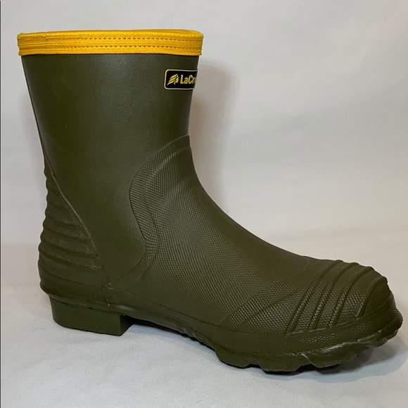 """LaCrosse Other - LaCrosse Burly Air Grip 9"""" Green Rubber Boots 10"""